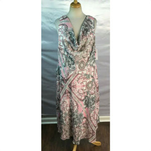 SIGNATURE by ROBBIE BEE Womens Midi Dress, Size 16